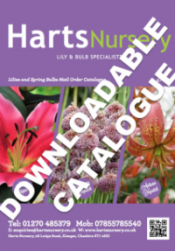 Harts Nursery Catalogue